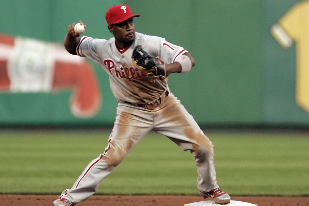 Jimmy Rollins has climbed the Phillies career lists, and is still going strong with the 4th highest WAR among NL shortstops in 2011.