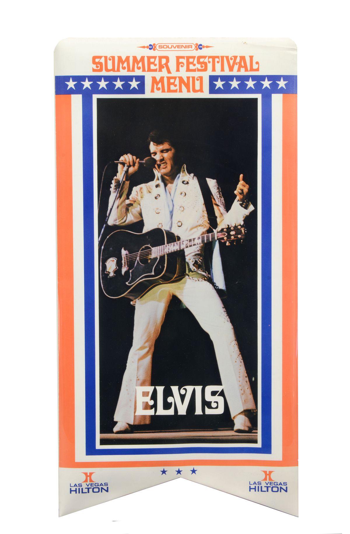 Elvis summer fest menu