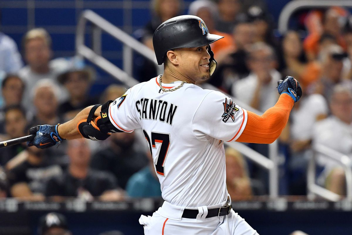 Image result for giancarlo stanton marlins IMAGES
