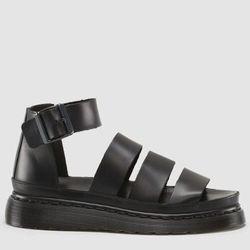 """<b>Dr. Marten's</b> Aggy sandal, <a href=""""http://www.drmartens.com/us/Womens/Womens-Sandals/AGGY-SANDAL/p/16048001#"""">$160</a>"""