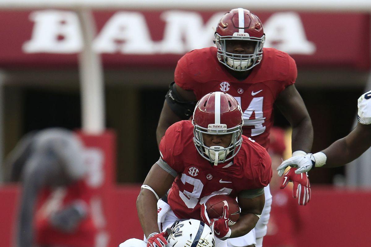 Alabama Spring Football 2016 Next Man Up Don T Sleep On Damien Harris Roll Bama Roll
