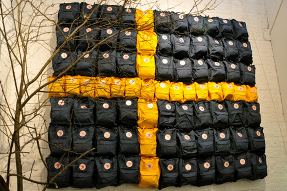 """Fjallraven's supplies for the cold Swedish winter via <a href=""""http://www.flickr.com/photos/essgee/4125767898/in/pool-rackedny"""">EssG</a>/Racked Flickr Pool"""