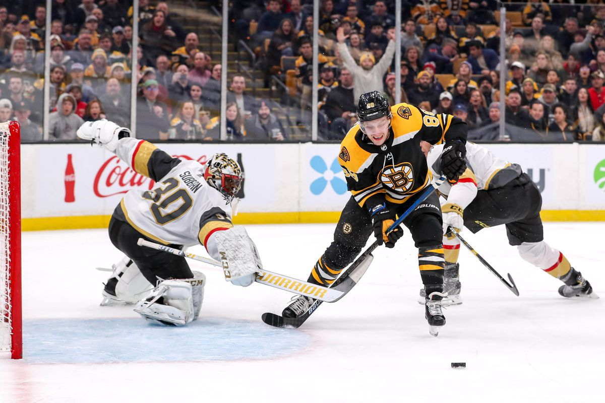 NHL: Vegas Golden Knights at Boston Bruins