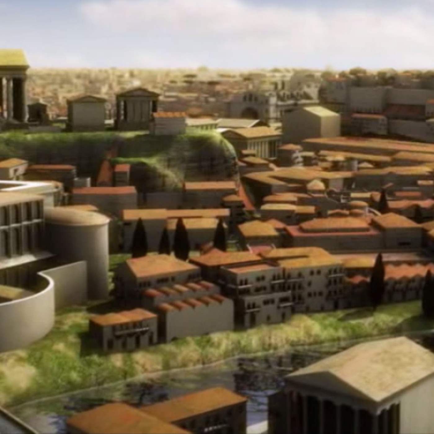 This Video Shows What Ancient Rome Actually Looked Like Vox