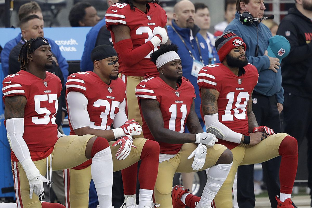 3db5cab6bd452a Donald Trump, kneeling NFL players and the national anthem: Let's ...