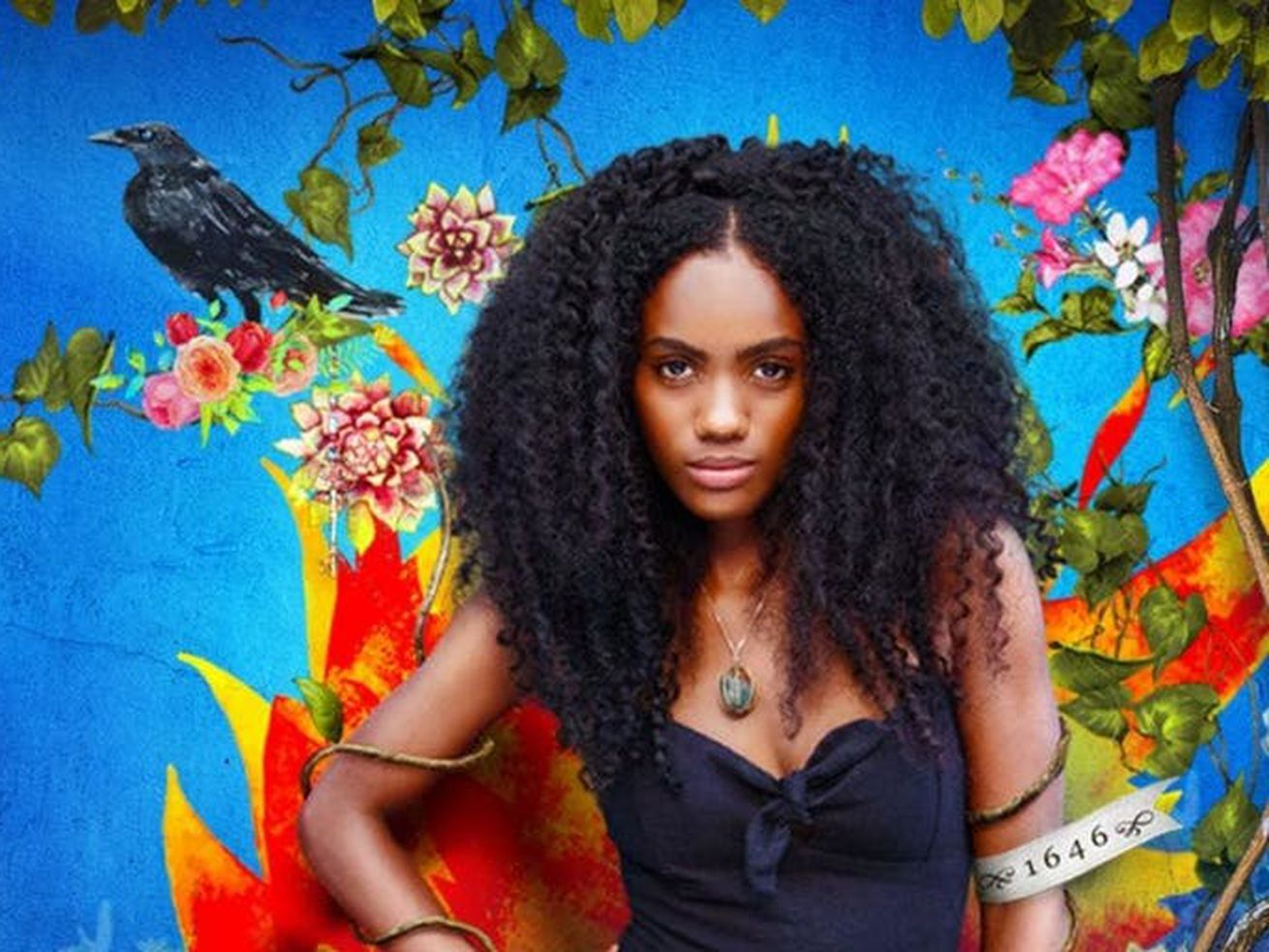 <em>Siempre Bruja</em> stars Angely Gaviria as Carmen Eguiluz, a powerful Afro-Colombian witch.