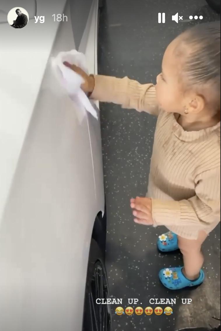 YG's daughter