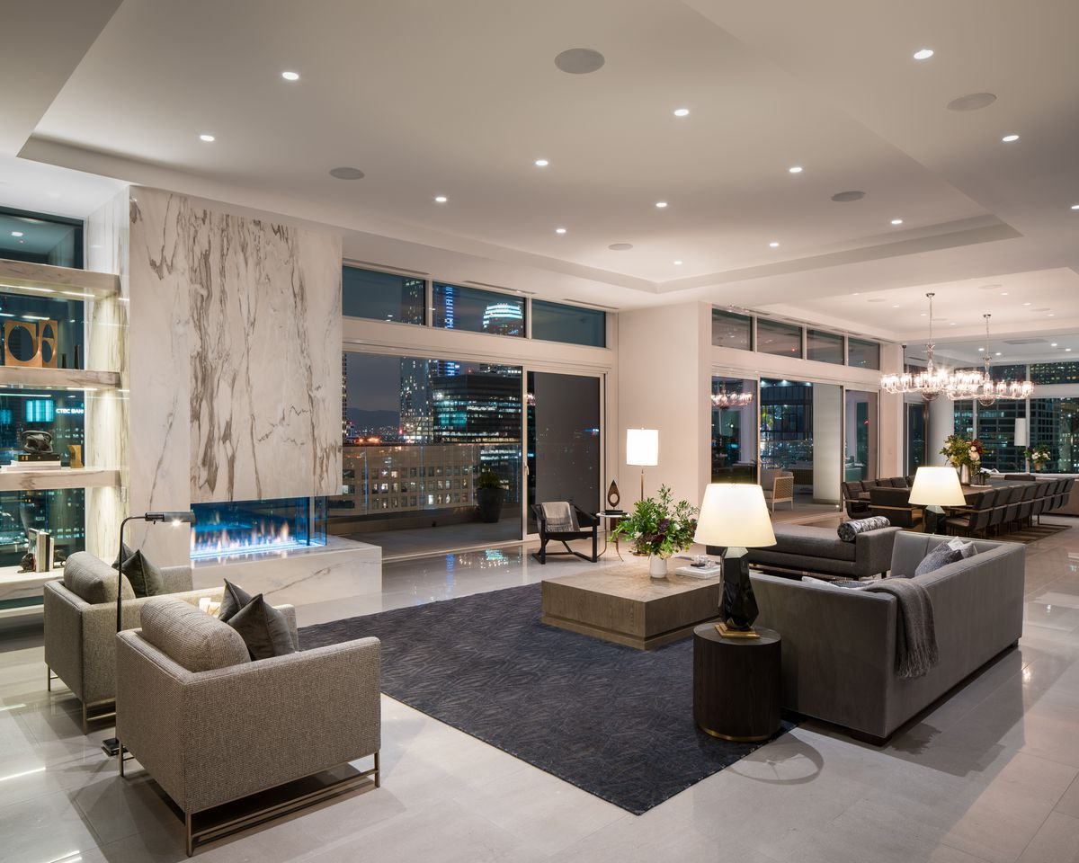 La S Most Expensive Penthouse Debuts In South Park