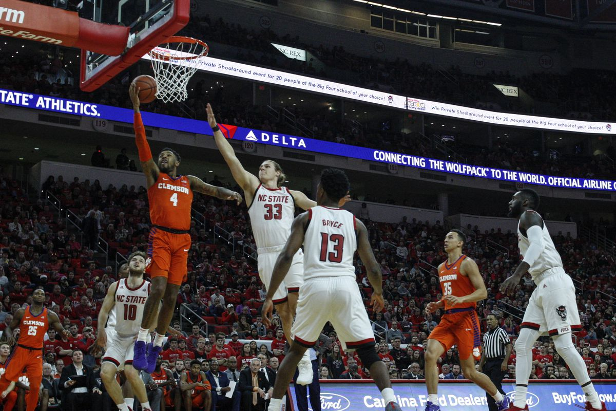 NCAA Basketball: Clemson at N.C. State