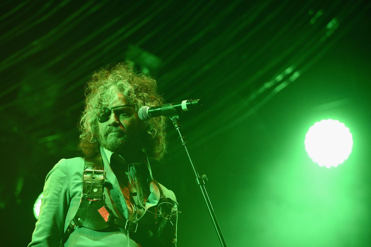 Wayne Coyne of The Flaming Lips performs onstage at Pitchfork And October Present OctFest 2018 at Governors Island on September 9, 2018 in New York City.