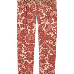 """<a href=""""http://www.theoutnet.com/product/172693"""">Clements Ribeiro Printed silk-damask pants</a>, $162.75 (were $1,085)"""