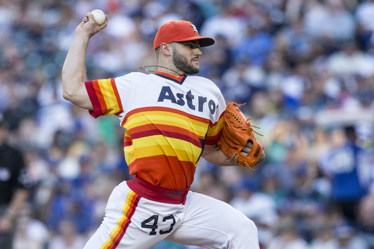 newest df14f b18f1 Astros wear throwback uniforms in Seattle - The Crawfish Boxes