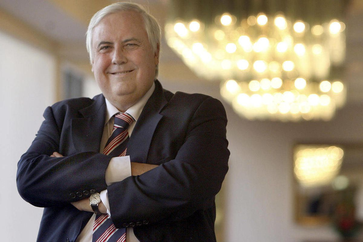 CORRECTS OBJECT NAME - FILE - This undated file photo released by Mineralogy shows Gold Coast United owner Clive Palmer in Brisbane, Australia. Mining magnate Palmer, one of Australia's richest business people, said Monday, April 30, 2012 he hoped to run