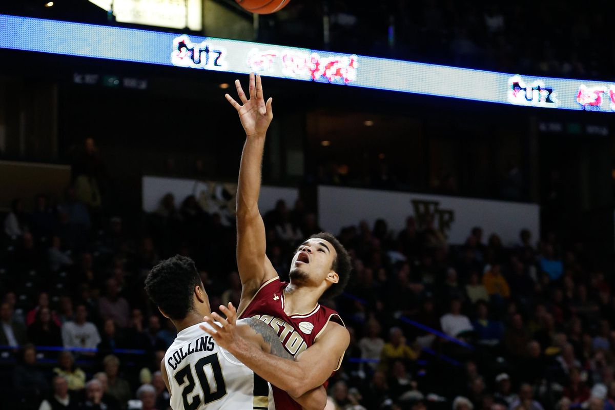 NCAA Basketball: Boston College at Wake Forest