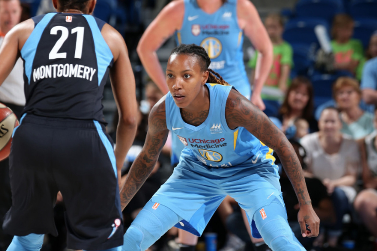 Chicago Sky guard Jamierra Faulkner rediscovers her swag in Russia - Chicago Sun-Times