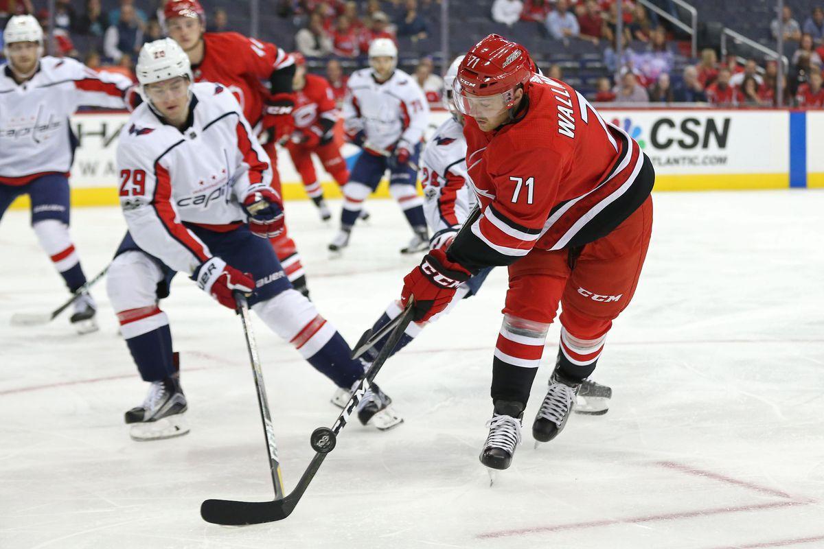 NHL: Preseason-Carolina Hurricanes at Washington Capitals