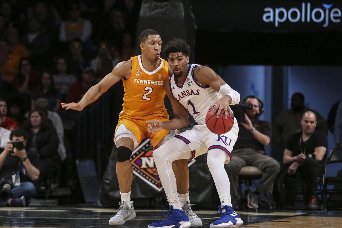 NCAA Basketball: NIT Season Tip-Off-Tennessee vs Kansas