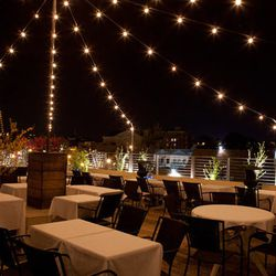Rooftop dining at <b>Perrys</b> in Adams Morgan.