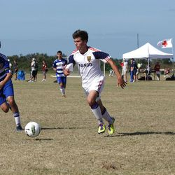 Lucas Cawley showed off his talents as a freshman at Viewmont last year. He's now at the RSL-Arizona Academy.