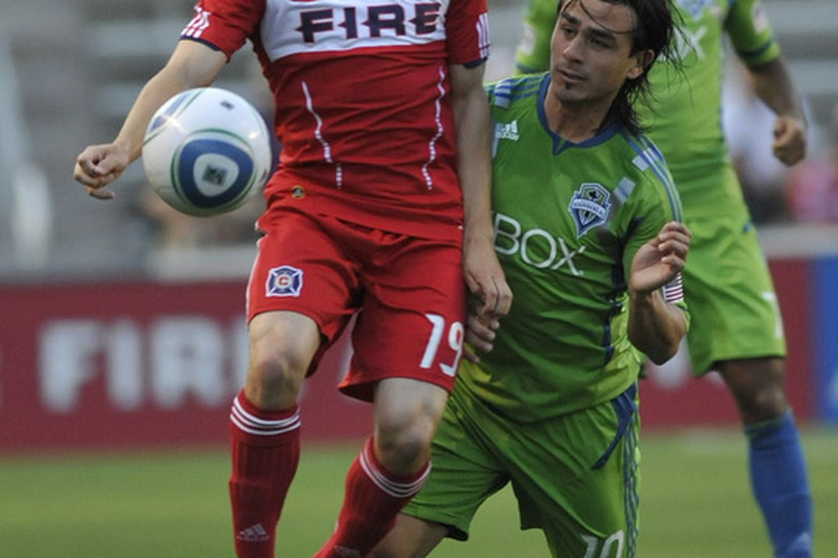 Remember this guy? Corben Bone hasn't seen a lot of playing time for the Chicago Fire during the 2012 season. Will he be one of the players who sees more action in the second half of the season?