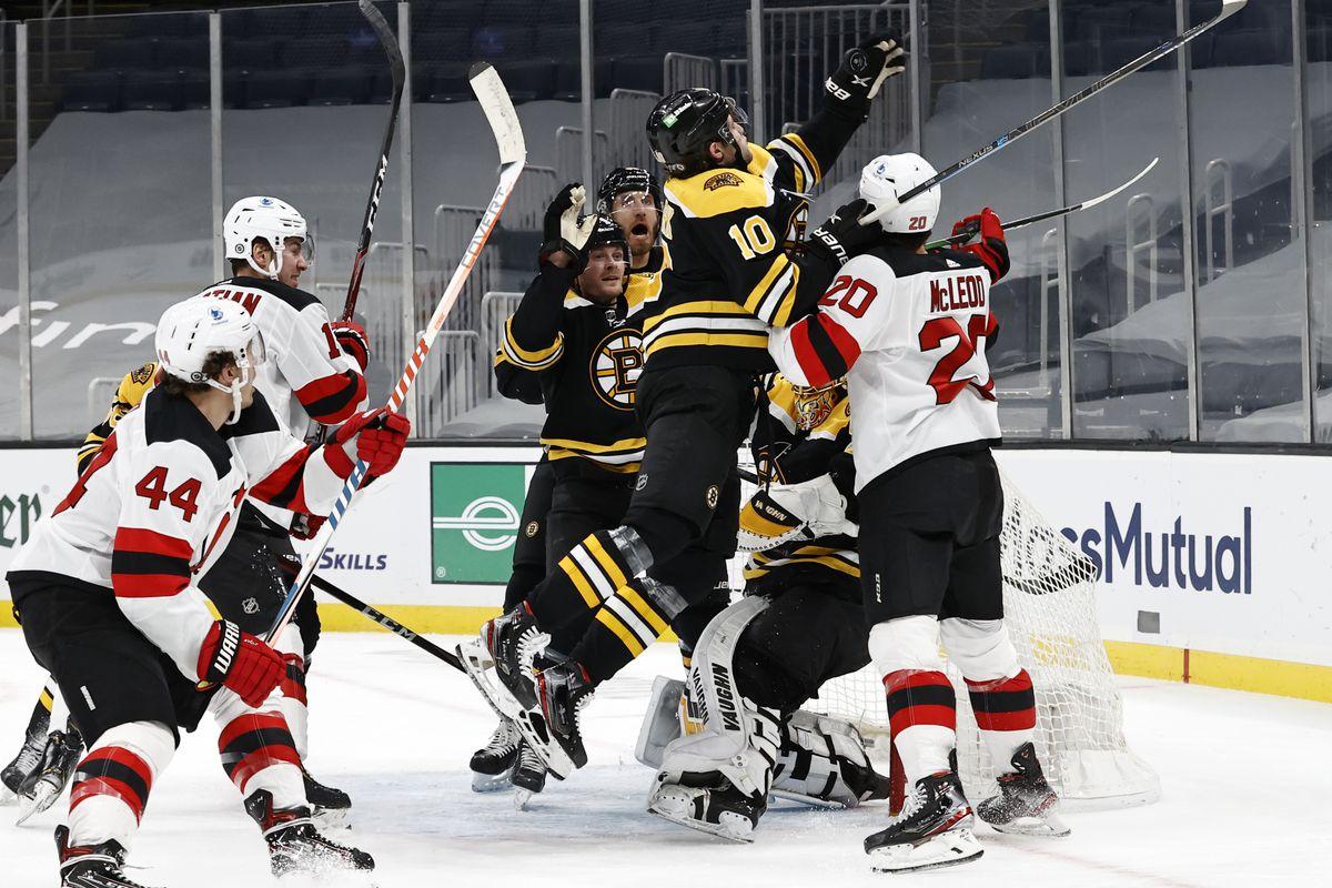 NHL: MAR 07 Devils at Bruins