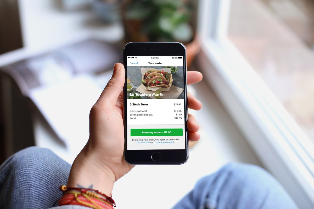 Grubhub S New Strategy Is To Offer Deliveries Without