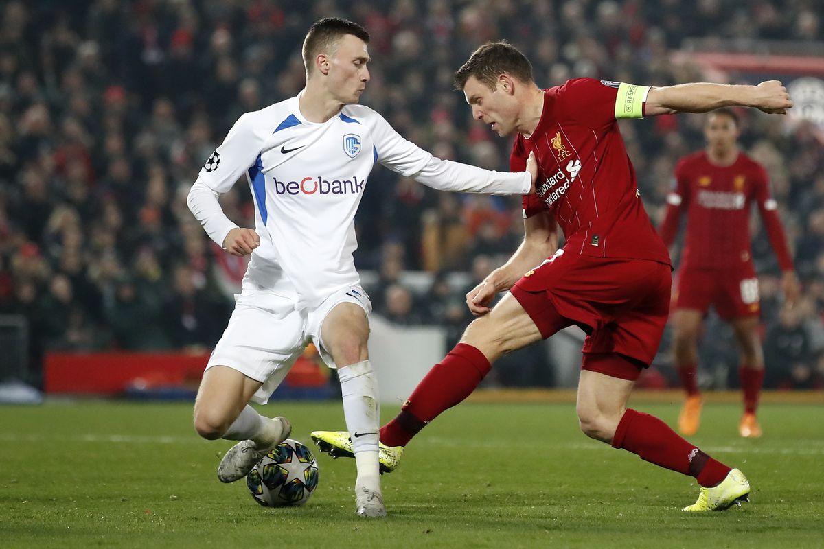 Liverpool v KRC Genk - UEFA Champions League - Group E - Anfield