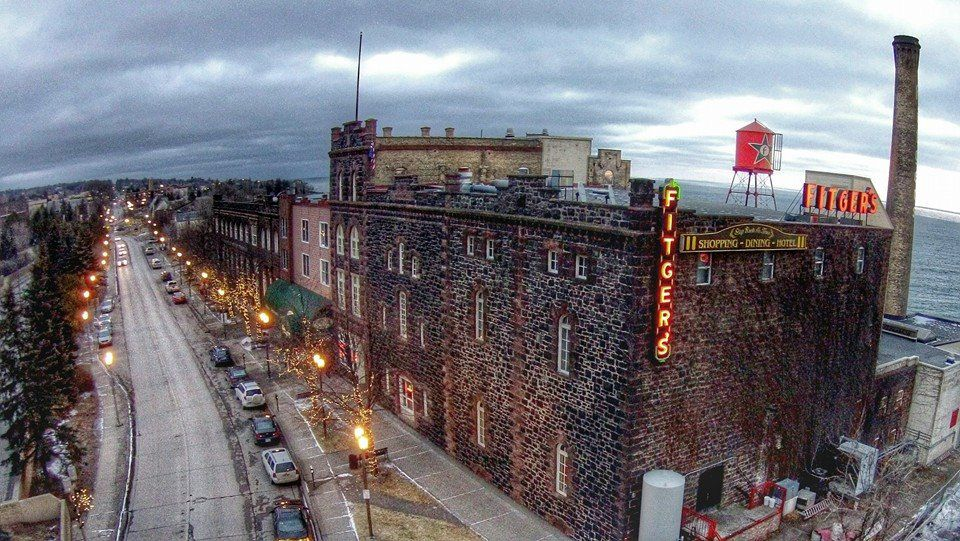 Fitger's Brewery complex in Duluth. Photo courtesy Fitger's