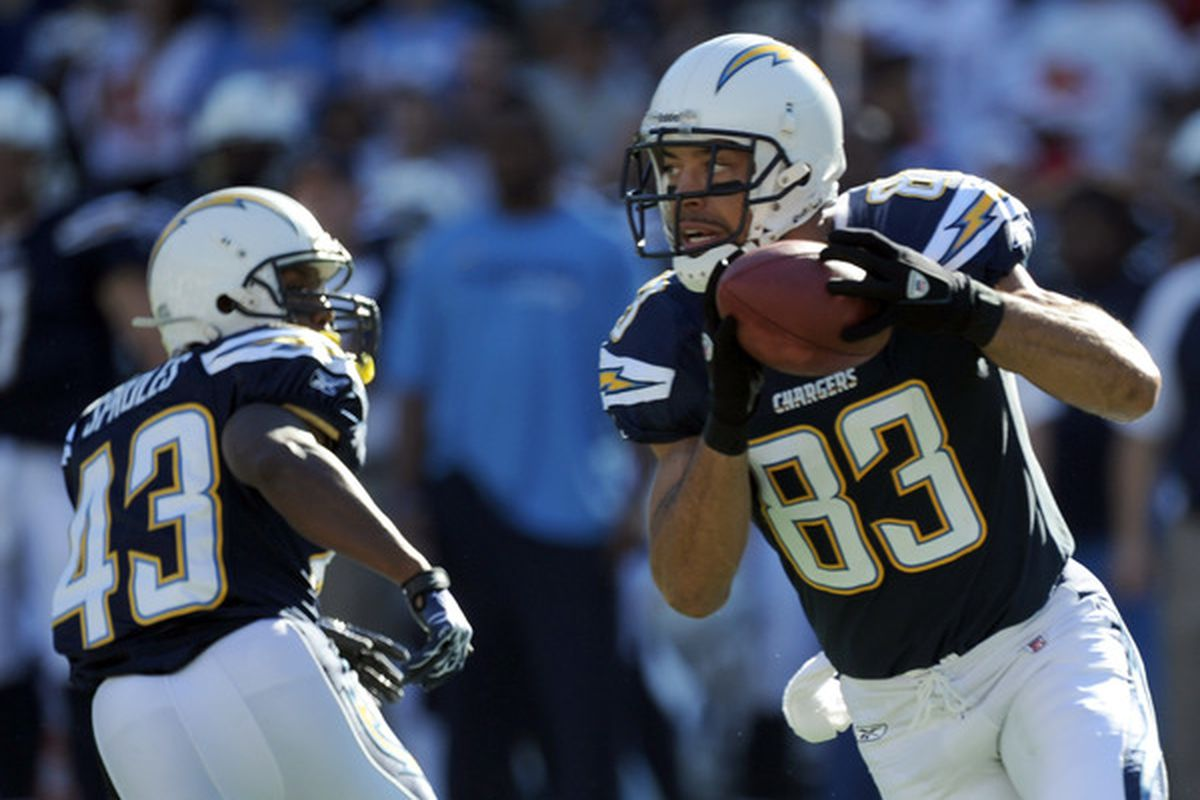 Chargers 2011 Week 1 Roster 2011 Vs 2010 Bolts From The