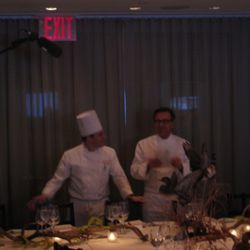 Keysen and Boulud. Dude, the boom is in the picture.