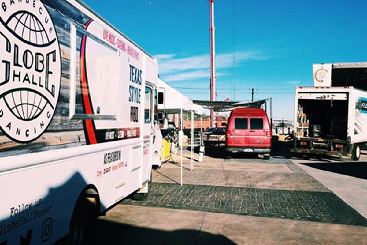 Barbecue and music venue globe hall launches food truck eater denver