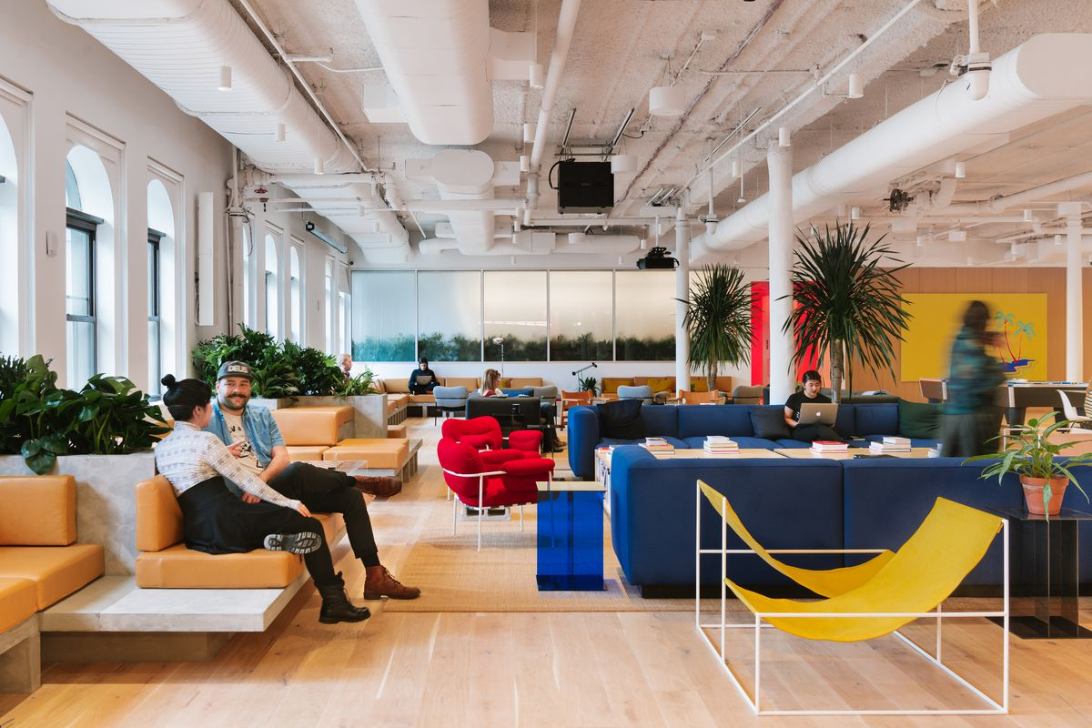 Larger Tenants Can Rent A More Private Wework Space With