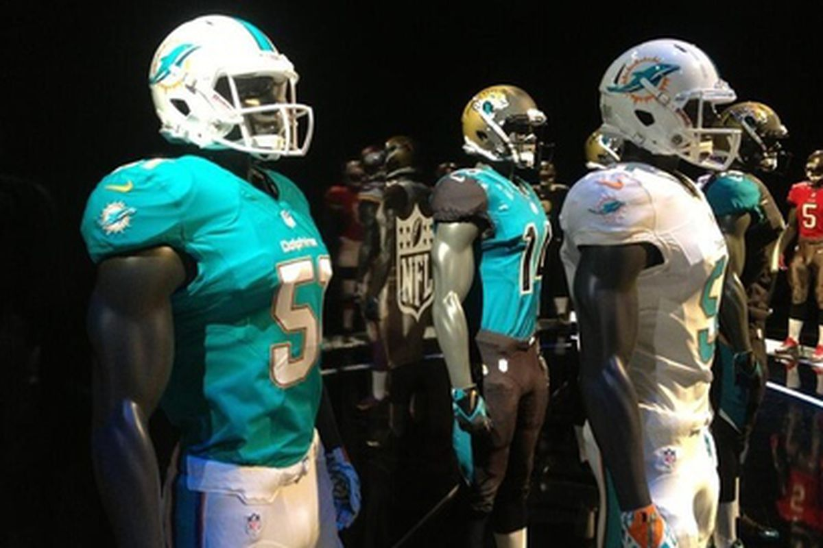 pretty nice b3ac6 bd457 Miami Dolphins New Uniforms - Reaction Thread - The Phinsider