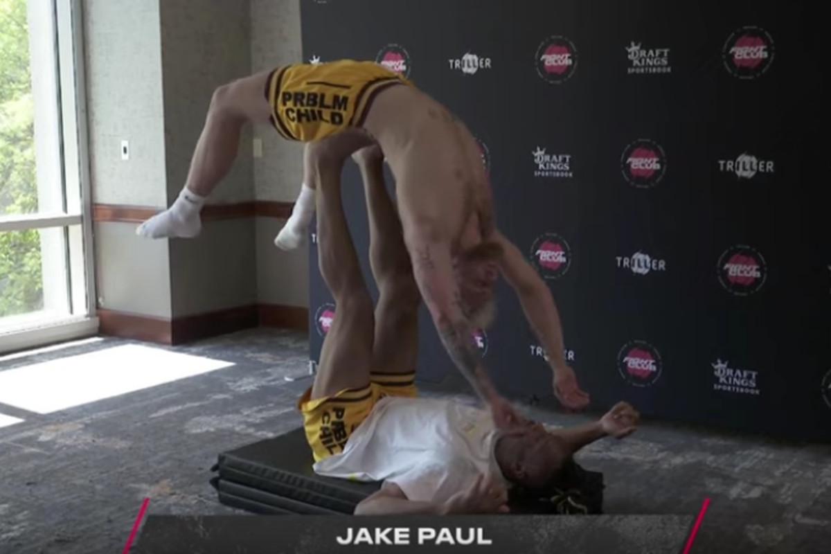Jake Paul vs. Ben Askren open workout