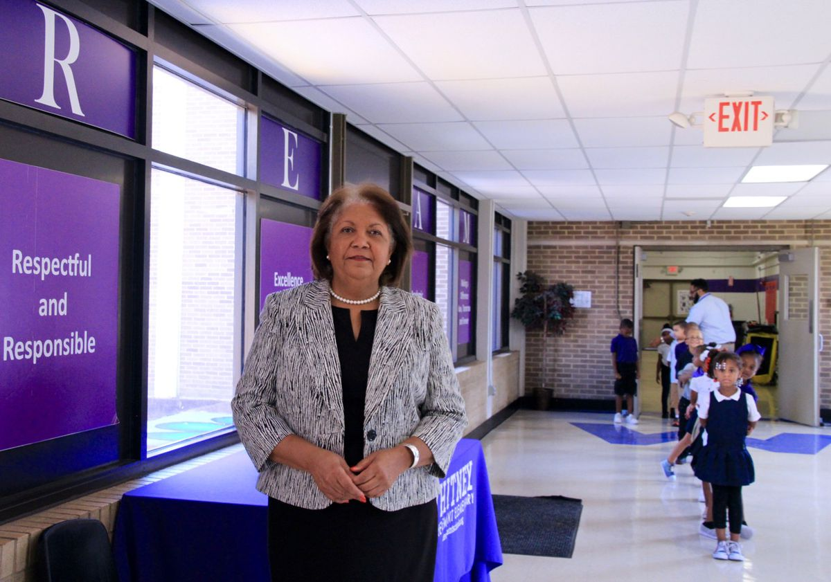 A former superintendent for Jackson-Madison County Schools, Verna Ruffin became the ASD's chief of academics in August.