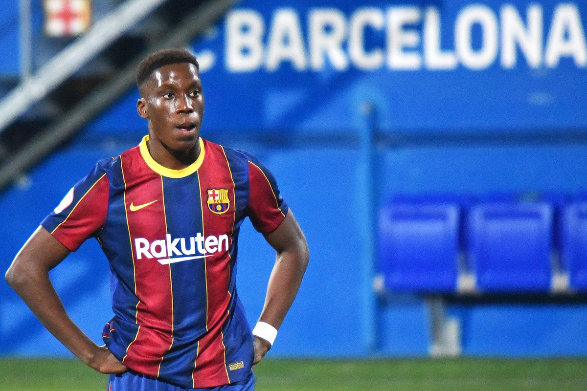 Ilaix Moriba Debut At Barcelona