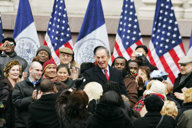 Bloomberg's second-term inauguration in 2006.