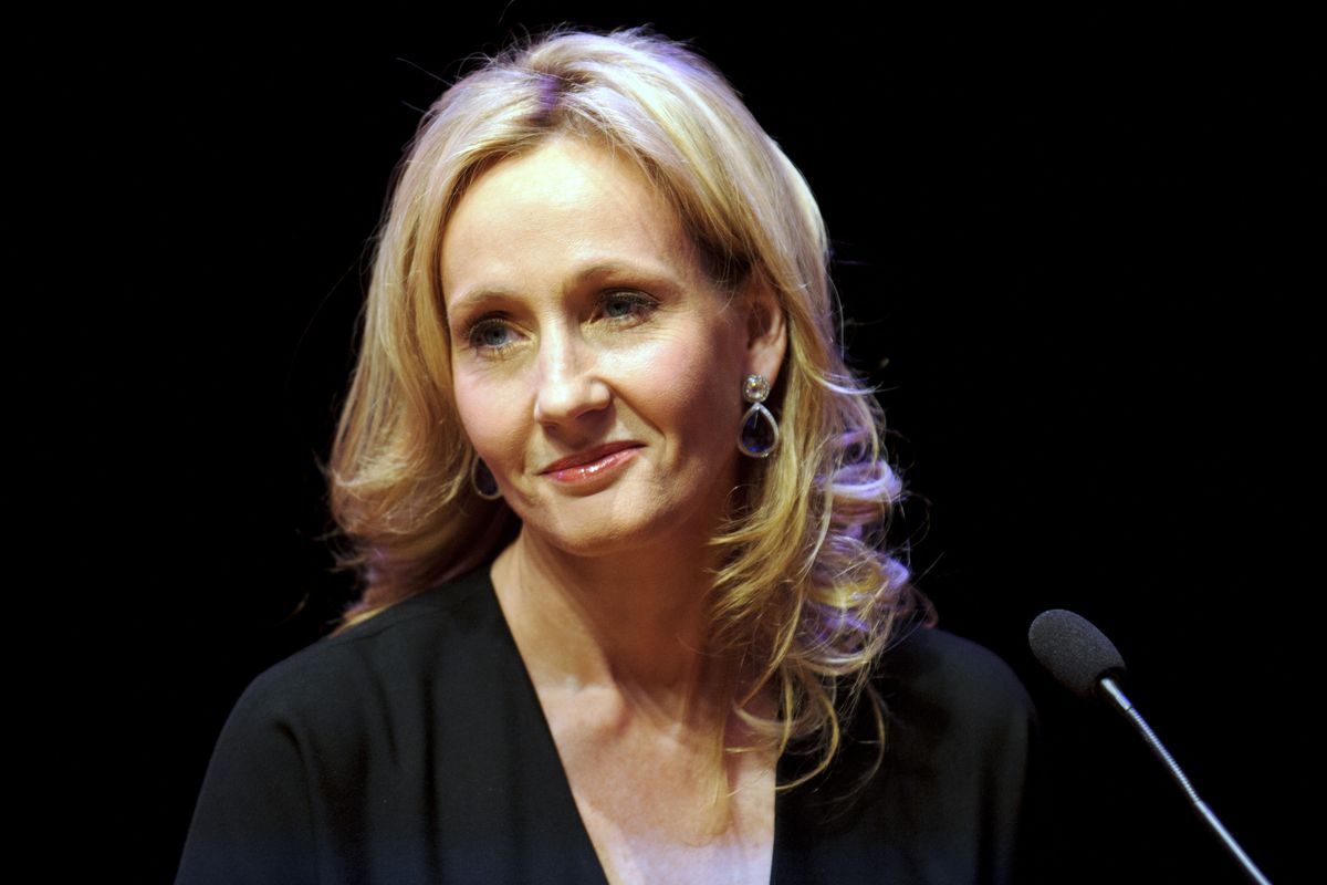 J.K. Rowling chatted with her fans on Twitter on Tuesday night.