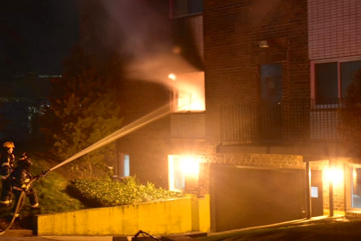 Crews responded to a fire April 21, 2020, in the 4700 block of St. Joseph Creek Road in Lisle.