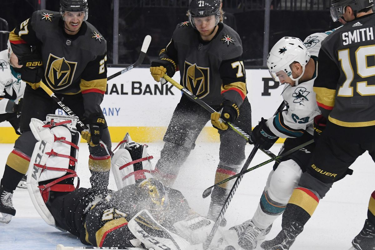 9a3f7222720 2019 Stanley Cup Playoffs Preview  Breaking down the Golden Knights and  Sharks first-round series - Knights On Ice