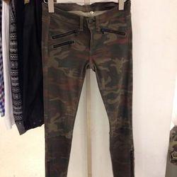 Rag & Bone camo leather pants, $420 (originally $1,045)