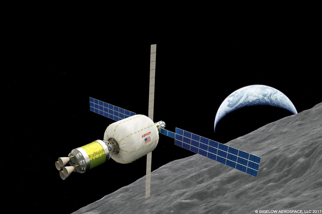 bigelow aerospace wants to put an inflatable space habitat in orbit around the moon