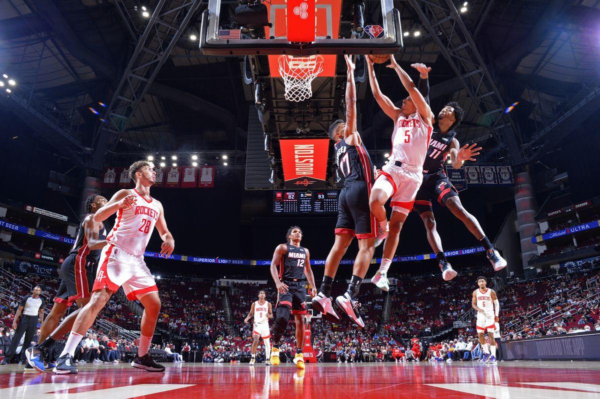 Miami Heat v Houston Rockets