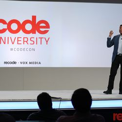 One major change to Code Conference in 2018 was the addition of Code University, a series of 20-minute lectures by industry leaders aimed at influencing the net generation of tech giants.