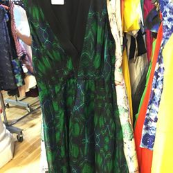 Proenza Schouler Kaleidoscope floral dress, $91 (was $645)