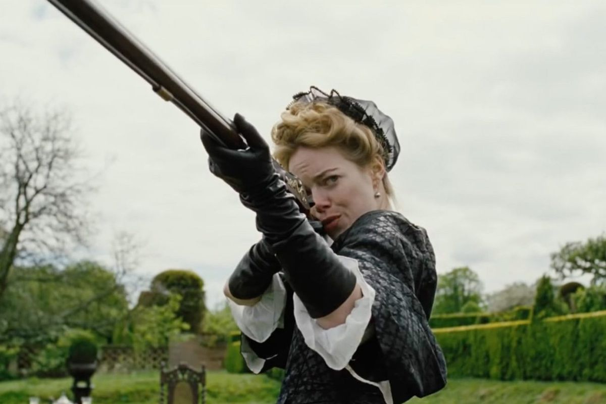 Image result for emma stone the favourite