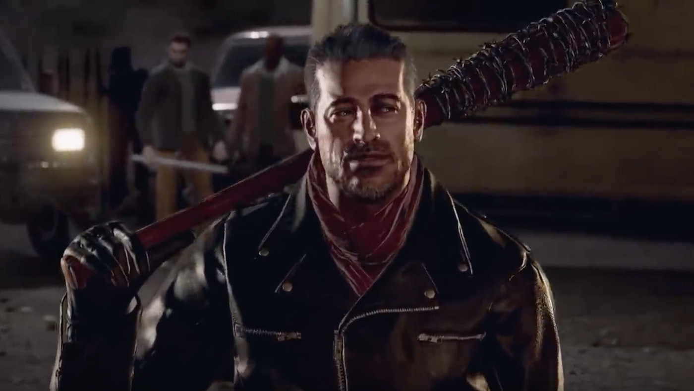 The Walking Dead S Negan Comes To Tekken 7 At The End Of The Month Polygon