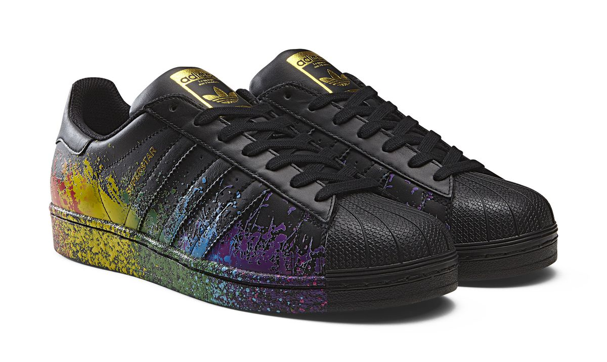 7cbd32bf1fa16 ... Adidas LGBT network across several location within the company the  message is that we embrace all sorts of diversity. The collection is a  vehicle for ...