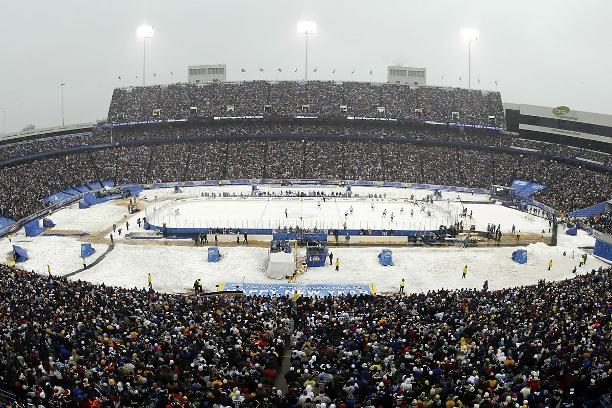 We last saw outdoor hockey in Buffalo in 2008, is another game in 2018 in the cards?