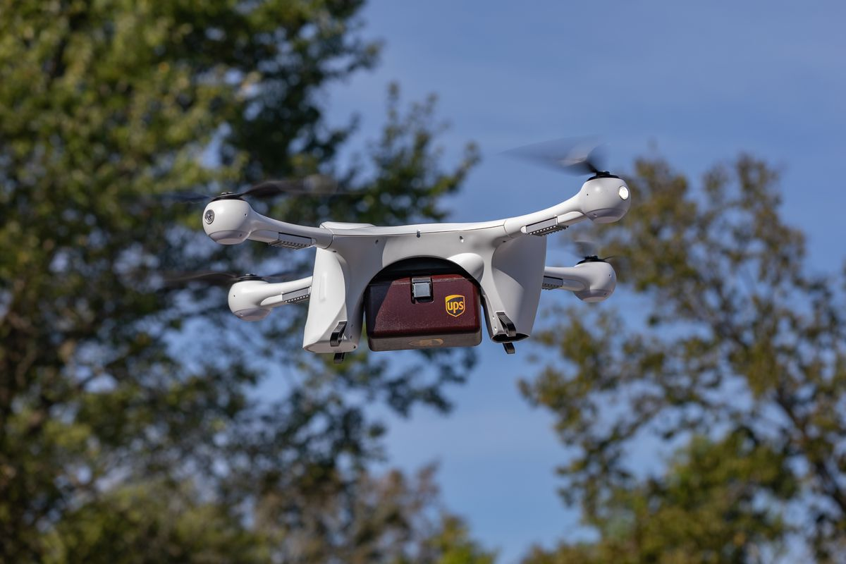 UPS aims to get out ahead of competitors on drone delivery  UPS
